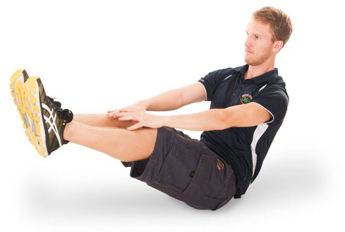 Exercise image of a V-sit