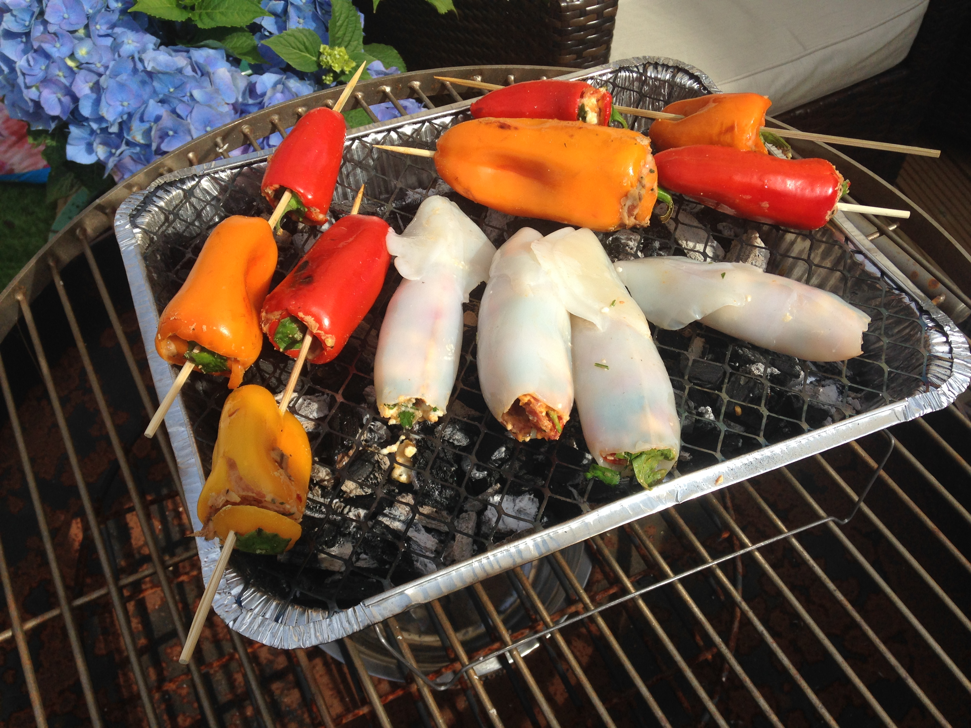 BBQ image of peppers